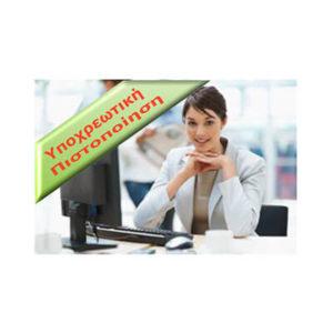 Vellum Assistant Manager Certificate