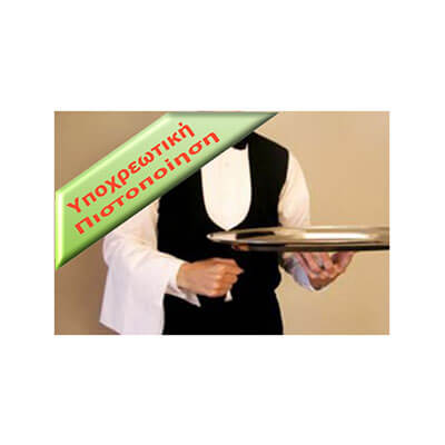 Vellum Certificate for Waiters